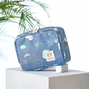 Baby Diaper Bag - Diaper Bags - L Unicorn blue - baby-diaper-bags