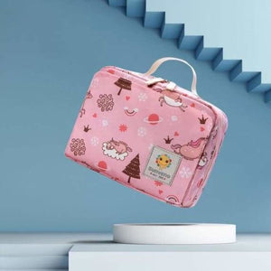 Baby Diaper Bag - Diaper Bags - Pink dream sky - baby-diaper-bags
