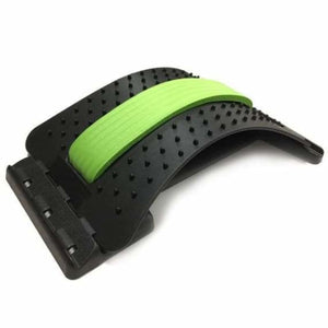 Back Massage Stretcher - Braces & Supports - Green with Black - back-massage-stretcher