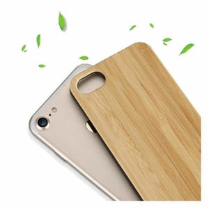 Bamboo Wood iPhone Case - Fitted Cases
