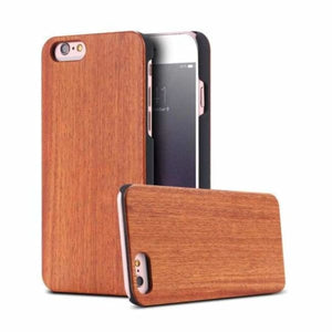 Bamboo Wood iPhone Case - Cherry Wood / For iPhone X - Fitted Cases