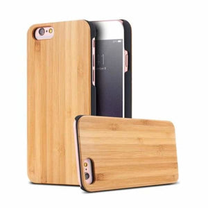 Bamboo Wood iPhone Case - Bamboo / For iPhone X - Fitted Cases