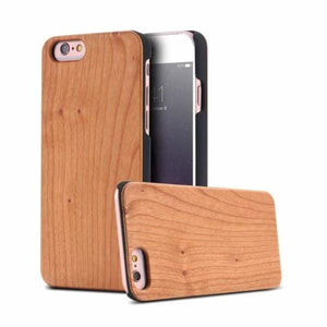 Bamboo Wood iPhone Case - Maple Wood / For iPhone X - Fitted Cases