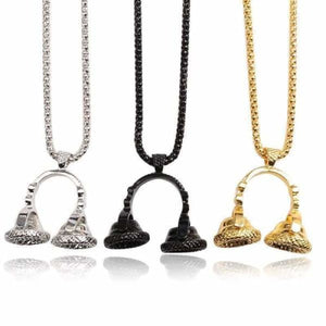 Beat Headphones Necklaces - Unisex - Pendant Necklaces