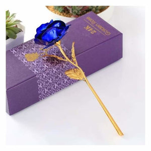 Beautiful Gold Plated Rose - Artificial & Dried Flowers - beautiful-gold-plated-rose