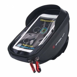 Bicycle Phone Holder & Storage - Black - Bicycle Bags & Panniers