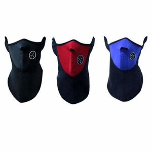 Bike Half Face Mask - Cycling Face Mask - bike-half-face-mask