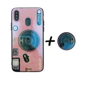 Camera Case For iPhone - Pink Case Holder / For iPhone 6 6S - Fitted Cases