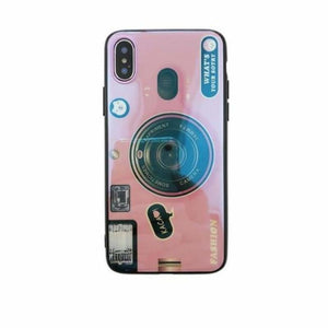Camera Case For iPhone - Pink Case Only / For iPhone 6 6S - Fitted Cases