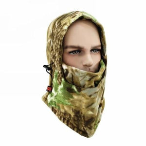 Camouflage Cap Winter face mask - Motorcycle Face Mask - A-01 - camouflage-cap-winter-face-mask