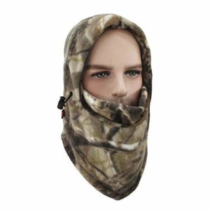 Camouflage Cap Winter face mask - Motorcycle Face Mask - A-02 - camouflage-cap-winter-face-mask