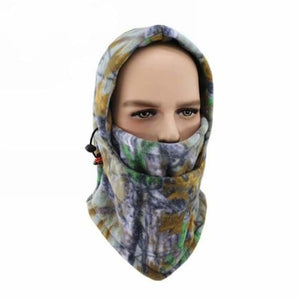 Camouflage Cap Winter face mask - Motorcycle Face Mask - A-04 - camouflage-cap-winter-face-mask
