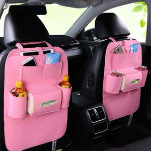 Car Back Seat Organiser - Stowing Tidying