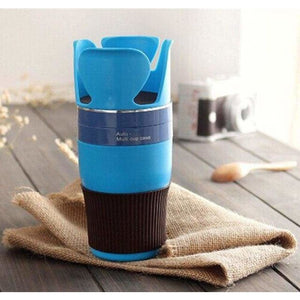 Car Cup Organizer - Stowing Tidying - Blue - car-cup-organizer