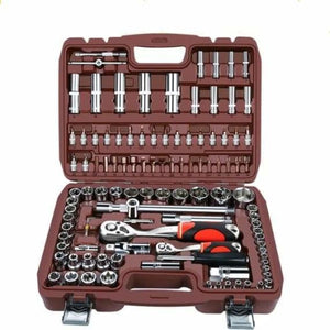 Car Repair Tool Ratchet Set - Wrench - 108pcs - car-repair-tool-ratchet-set