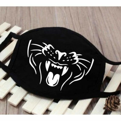 Cartoon expression cotton dust mask - party masks - 3038 - cartoon-expression-cotton-dust-mask