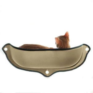 Cat Hammock Window Bed - Coffee / 68 X 28 cm