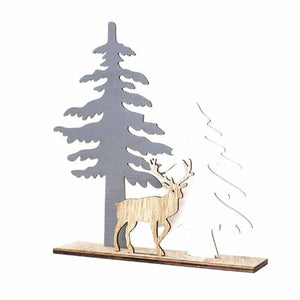 Christmas Decoration Gifts - Pendant & Drop Ornaments - Elk Christmas tree - christmas-decoration-ornament