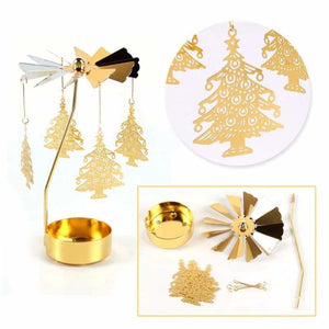 Christmas Decoration Gifts - Pendant & Drop Ornaments - Rotary Tealight Candle-2 - christmas-decoration-ornament