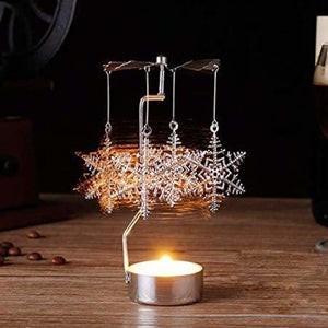 Christmas Decoration Gifts - Pendant & Drop Ornaments - Rotary Tealight Candle-3 - christmas-decoration-ornament