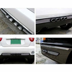 Chrome Exhaust Tailpipes Car Styling - Styling Mouldings