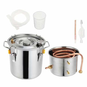 Copper Alcohol Distiller kit - Distillers - water-wine-essential-oil-brewing-kit