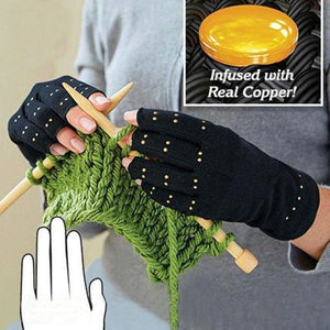 Copper Compression Therapy Hand Gloves - Wrist Support