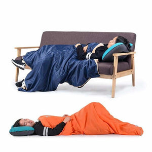 Coral Velvet Envelope Sleeping Bag Ultralight - Sleeping Bags - coral-velvet-envelope-sleeping-bag-ultralight