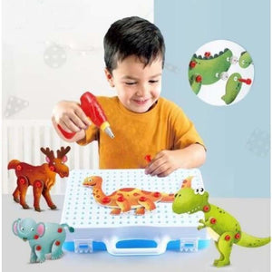 Creative Animal Toy Drill Kit - Tool Toys