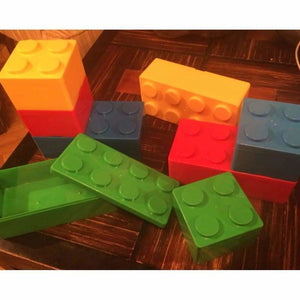 Creative building blocks for storage - Storage Boxes & Bins - plastic-stationery-box