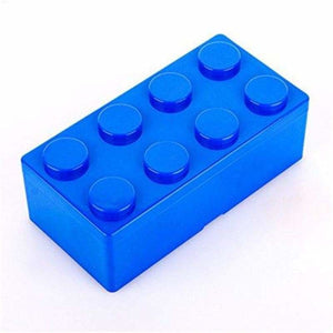 Creative building blocks for storage - Storage Boxes & Bins - L / Blue - plastic-stationery-box