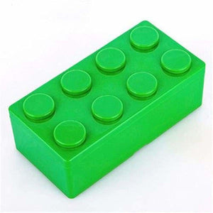 Creative building blocks for storage - Storage Boxes & Bins - L / Green - plastic-stationery-box