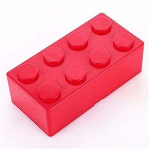 Creative building blocks for storage - Storage Boxes & Bins - L / Red - plastic-stationery-box