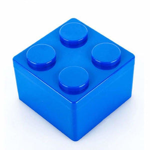 Creative building blocks for storage - Storage Boxes & Bins - S / Blue - plastic-stationery-box