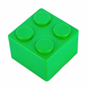 Creative building blocks for storage - Storage Boxes & Bins - S / Green - plastic-stationery-box