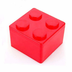 Creative building blocks for storage - Storage Boxes & Bins - S / Red - plastic-stationery-box