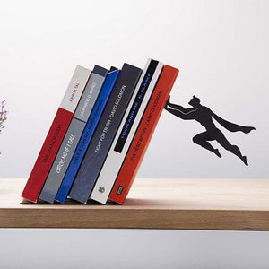 Creative Superman Metal Book Stopper - Bookends