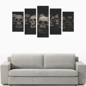 Demon Skulls Canvas Print Sets (No Frame) - Canvas Print Sets A (No Frame)