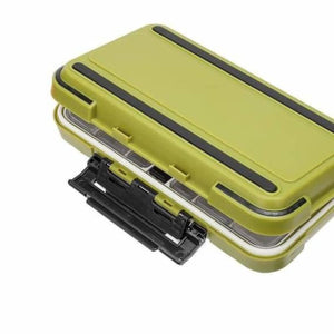 Double sided waterproof fishing tackle lure box - fishing tackle boxes - waterproof-double-sided-fishing-tackle-box