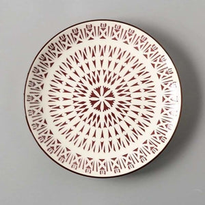 European Ceramics Plate - Dishes & Plates - Sun SPlate - european-ceramics-plate