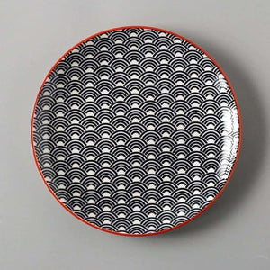 European Ceramics Plate - Dishes & Plates - Wave SPlate - european-ceramics-plate