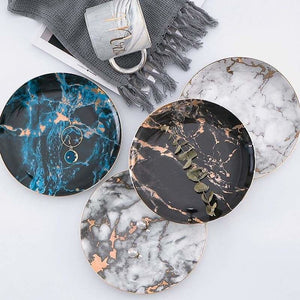 European Style Marble Plates - Dishes & Plates - european-style-marble-plates