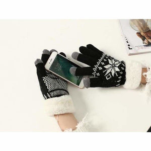 Extra-warm touchscreen Gloves - Mens Gloves - black - extra-warm-fleece-touchscreen-gloves