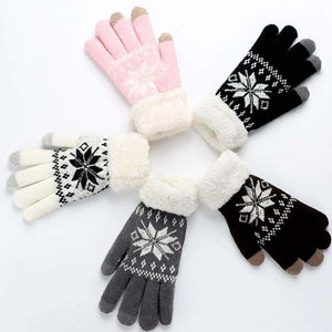 Extra-warm touchscreen Gloves - Mens Gloves - extra-warm-fleece-touchscreen-gloves