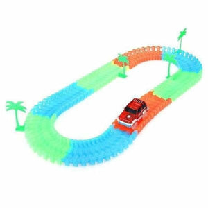 Fantastic Glowing Race Track - 92 pcs with car - Diecasts & Toy Vehicles