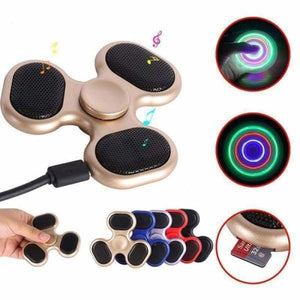Fidget Spinner with LED/SD Card/Speaker - Fidget Spinner