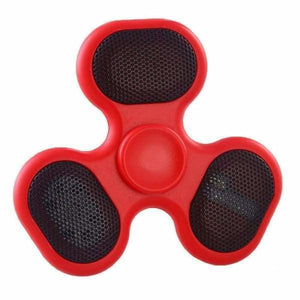 Fidget Spinner with LED/SD Card/Speaker - Red - Fidget Spinner
