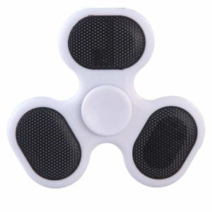 Fidget Spinner with LED/SD Card/Speaker - White - Fidget Spinner