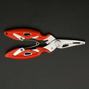 Fish Use Tongs Scissors Rope Piler - Fishing Tools - Orange -