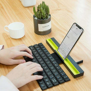 Foldable Wireless Bluetooth Keyboard - Keyboards - foldable-wireless-bluetooth-keyboard
